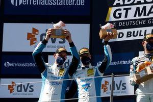 Podio: #33 Rutronik Racing by Tece Audi R8 LMS: Kim-Luis Schramm, Dennis Marschall