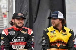 Bayley Curry, Rick Ware Racing, Chevrolet Camaro and Josh Bilicki, Rick Ware Racing, Ford Mustang