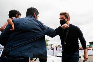 Karun Chandhok y Tom Cruise