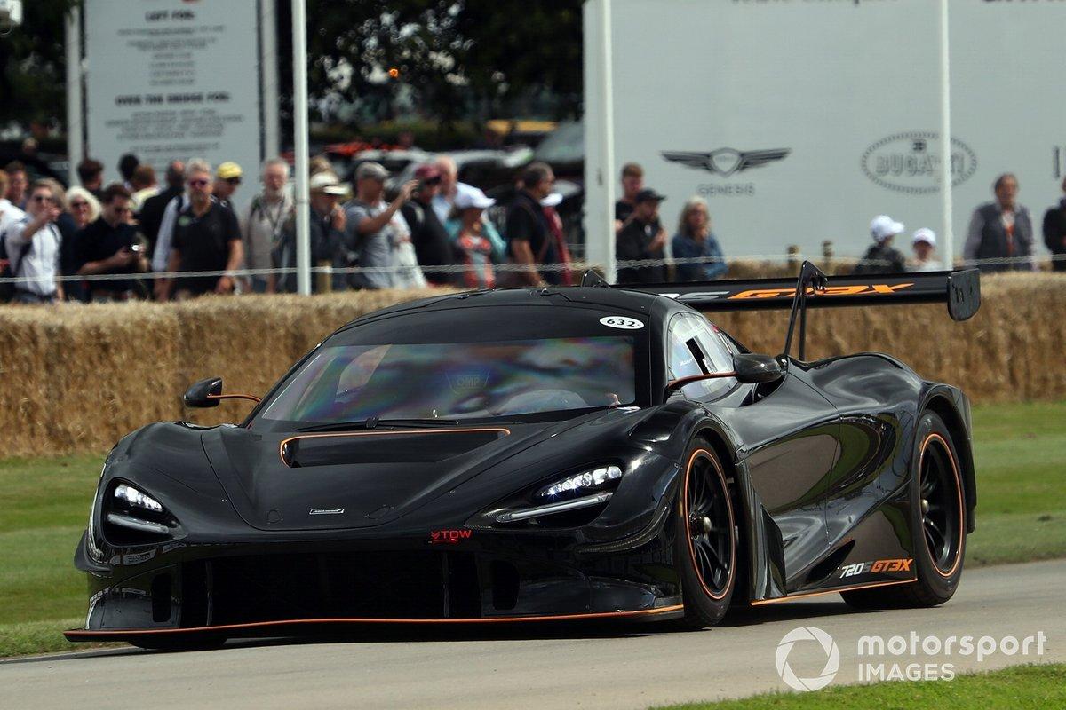 McLaren GT en Goodwood 2021