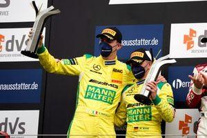 Podio: #70 Mann-Filter Team Landgraf-HTP WWR Mercedes-AMG GT3 Evo: Raffaele Marciello, Maximilian Buhk