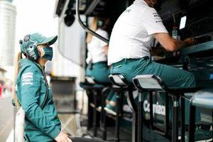 Jessica Hawkins, Driver ambassador, Aston Martin Cognizant Formula One Team