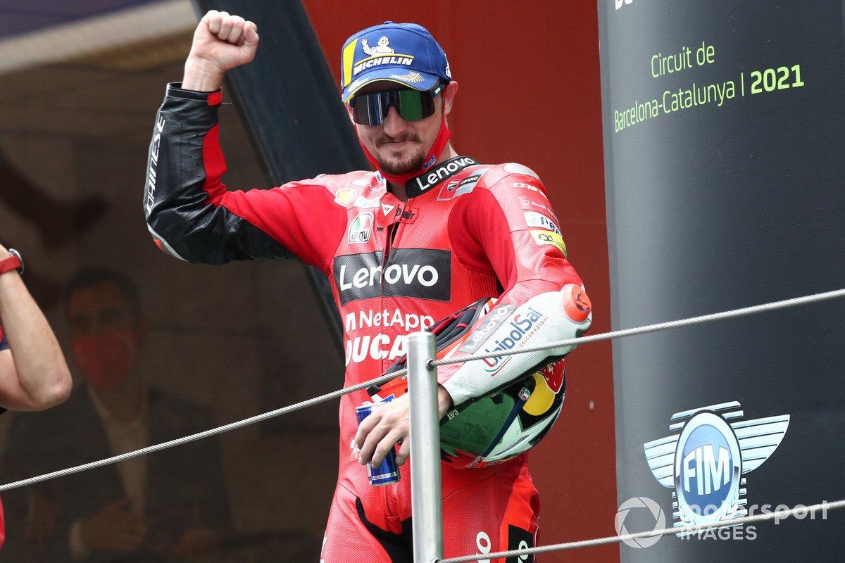 Podio: tercer lugar Jack Miller, Ducati Team