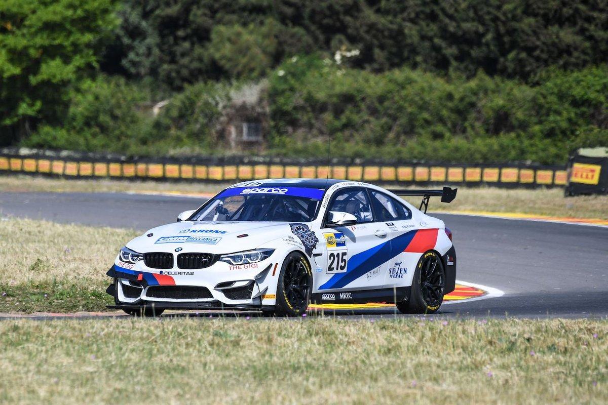 #215 Ceccato Motor Racing-BMW Team Italia, BMW M4 GT4: Nicola Neri, Giuseppe Fascicolo, Alfred Nilsson
