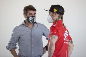 Carlos Checa, Alvaro Bautista, Team HRC