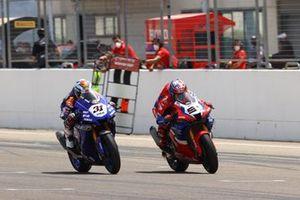 Leon Haslam, Team HRC, Garrett Gerloff, GRT Yamaha WorldSBK Team