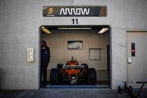 Patricio O'Ward, Arrow McLaren SP Chevrolet garage