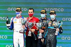 Podio: Jack Doohan, Trident, Dennis Hauger, Prema Racing, Matteo Nannini, HWA Racelab