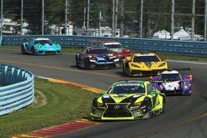 #14 VasserSullivan Lexus RC F GT3, GTD: Jack Hawksworth , Aaron Telitz, Kyle Kirkwood