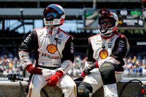 Membres de l'équipe de Josef Newgarden Penske Chevrolet