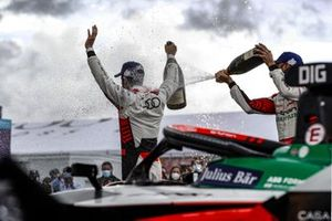 Podio: segundo lugar Rene Rast, Audi Sport ABT Schaeffler, ganador Lucas Di Grassi, Audi Sport ABT Schaeffler