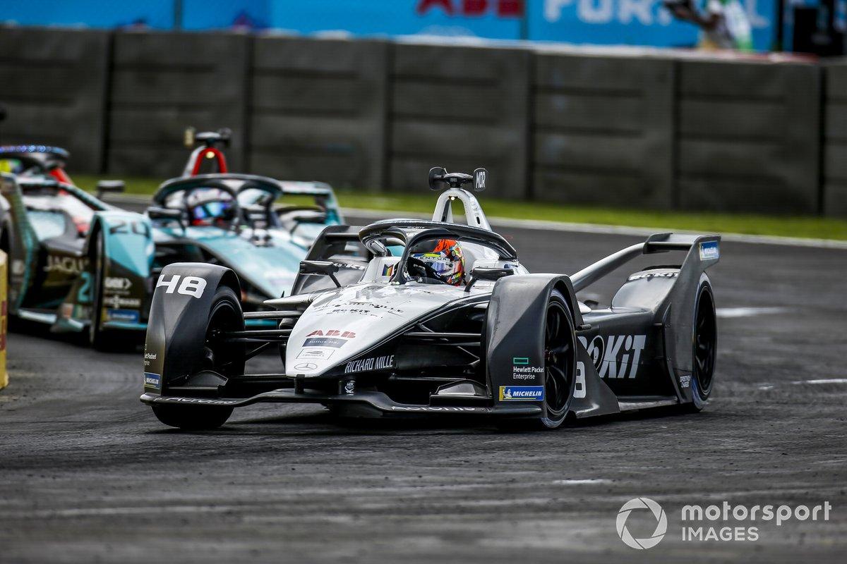 Edoardo Mortara, Venturi Racing, Silver Arrow 02, Mitch Evans, Jaguar Racing, Jaguar I-TYPE 5