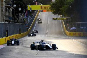 Matteo Nannini, Campos Racing, leads Jack Aitken, HWA Racelab