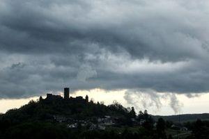 Nubes sobre Nürburg