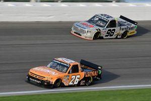Tyler Ankrum, GMS Racing, Chevrolet Silverado LiUNA! and Christian Eckes, ThorSport Racing, Toyota Tundra