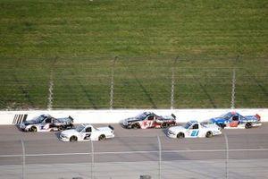 John Hunter Nemechek, Kyle Busch Motorsports, Toyota Tundra Mobil 1, Sheldon Creed, GMS Racing, Chevrolet Silverado Chevy Accessories, Zane Smith, GMS Racing, Chevrolet Silverado