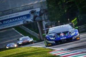 #114 Emil Frey Racing Lamborghini Huracan GT3 Evo: Jack Aitken, Konsta Lappalainen, Arthur Rougier