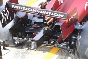 Ferrari SF21 diffuseur detail