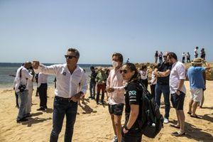 Alejandro Agag, CEO, Extreme E, Nico Rosberg, founder and CEO, Rosberg X Racing, and Molly Taylor, Rosberg X Racing
