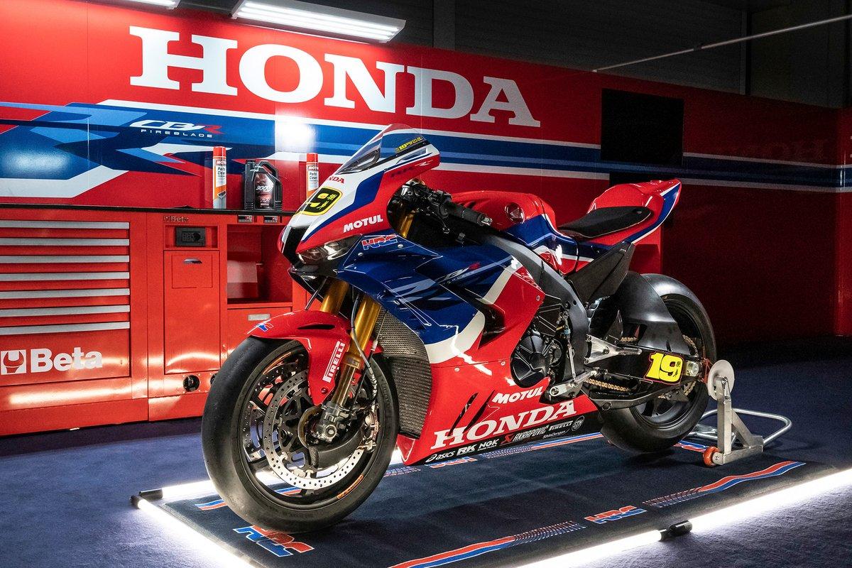 La moto de Álvaro Bautista, Team HRC