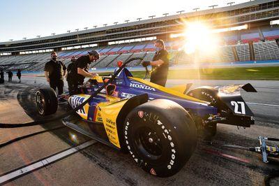 IndyCar-Test in Fort Worth