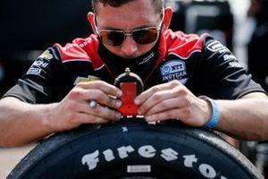 Will Power, Team Penske Chevrolet, membro del team, pneumatico Firestone