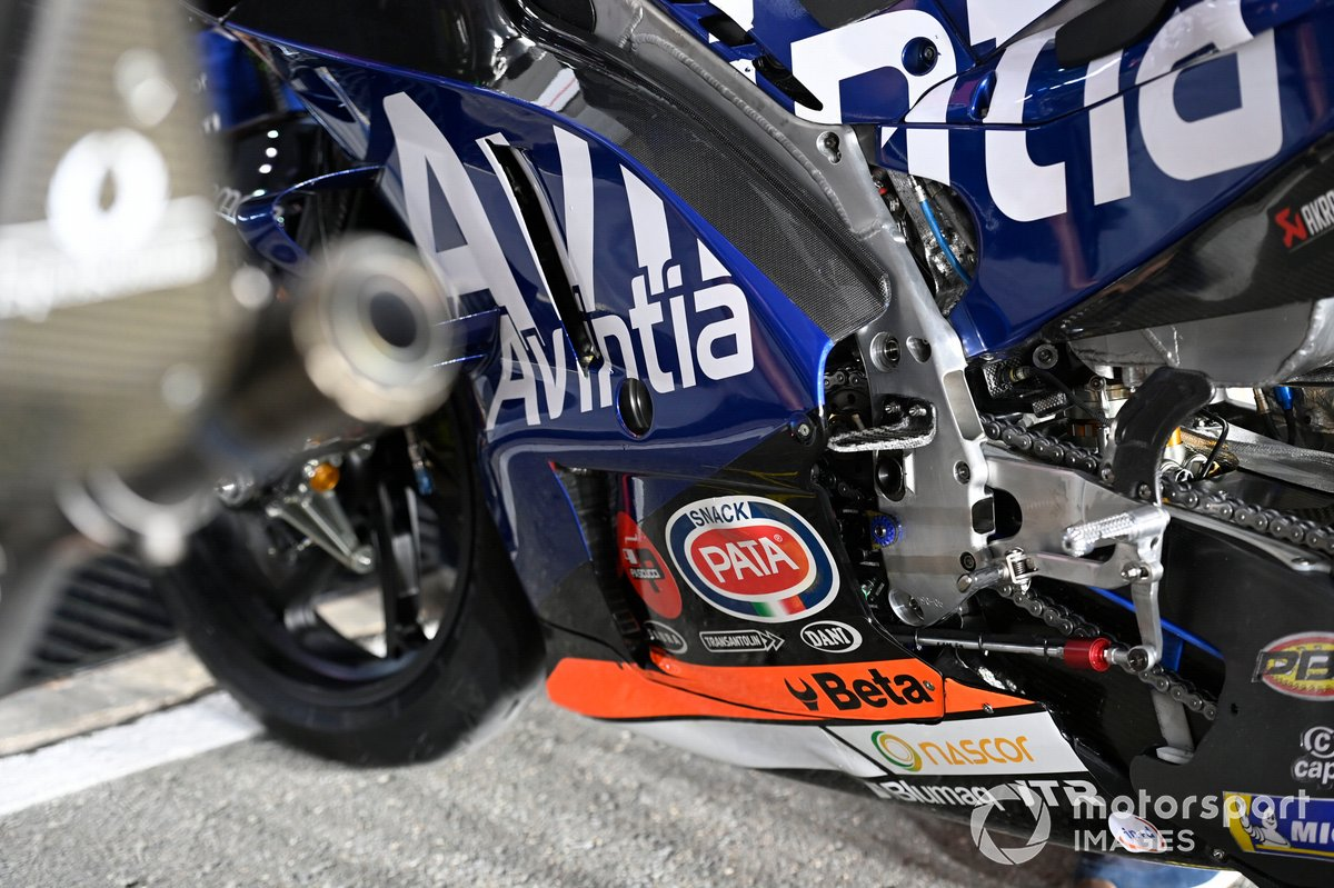 Moto de Esponsorama Racing