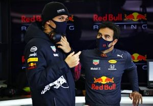 Sergio Perez, Red Bull Racing, Alexander Albon, Red Bull Racing