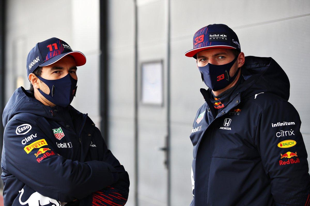 Max Verstappen, Red Bull Racing, Sergio Perez, Red Bull Racing