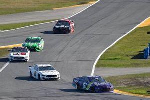 Cody Ware, Petty Ware Racing, Chevrolet Camaro and Ryan Newman, Roush Fenway Racing, Ford Mustang