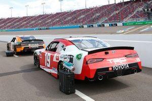 Daniel Hemric, Joe Gibbs Racing, Toyota Supra Poppy Bank, Brandon Jones, Joe Gibbs Racing, Toyota Supra Toyota