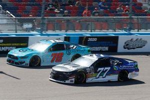 B.J. McLeod, Live Fast Motorsports, Ford Mustang, Justin Haley, Spire Motorsports, Chevrolet Camaro