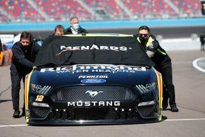 Ryan Blaney, Team Penske, Ford Mustang Menards/Richmond Water Heaters