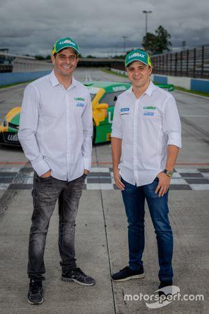 Julio Campos e Felipe Massa