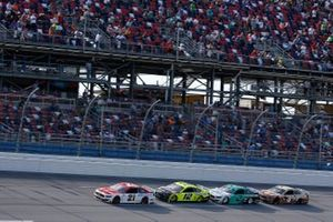 Ryan Blaney, Team Penske, Ford Mustang Menards/Sylvania, Ryan Blaney, Team Penske, Ford Mustang Menards/Sylvania, Brad Keselowski, Team Penske, Ford Mustang MoneyLion, Kevin Harvick, Stewart-Haas Racing, Ford Mustang Busch Dog Brew