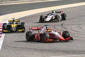 Mick Schumacher, Prema Racing, Guanyu Zhou, UNI-Virtuosi and Christian Lundgaard, ART Grand Prix