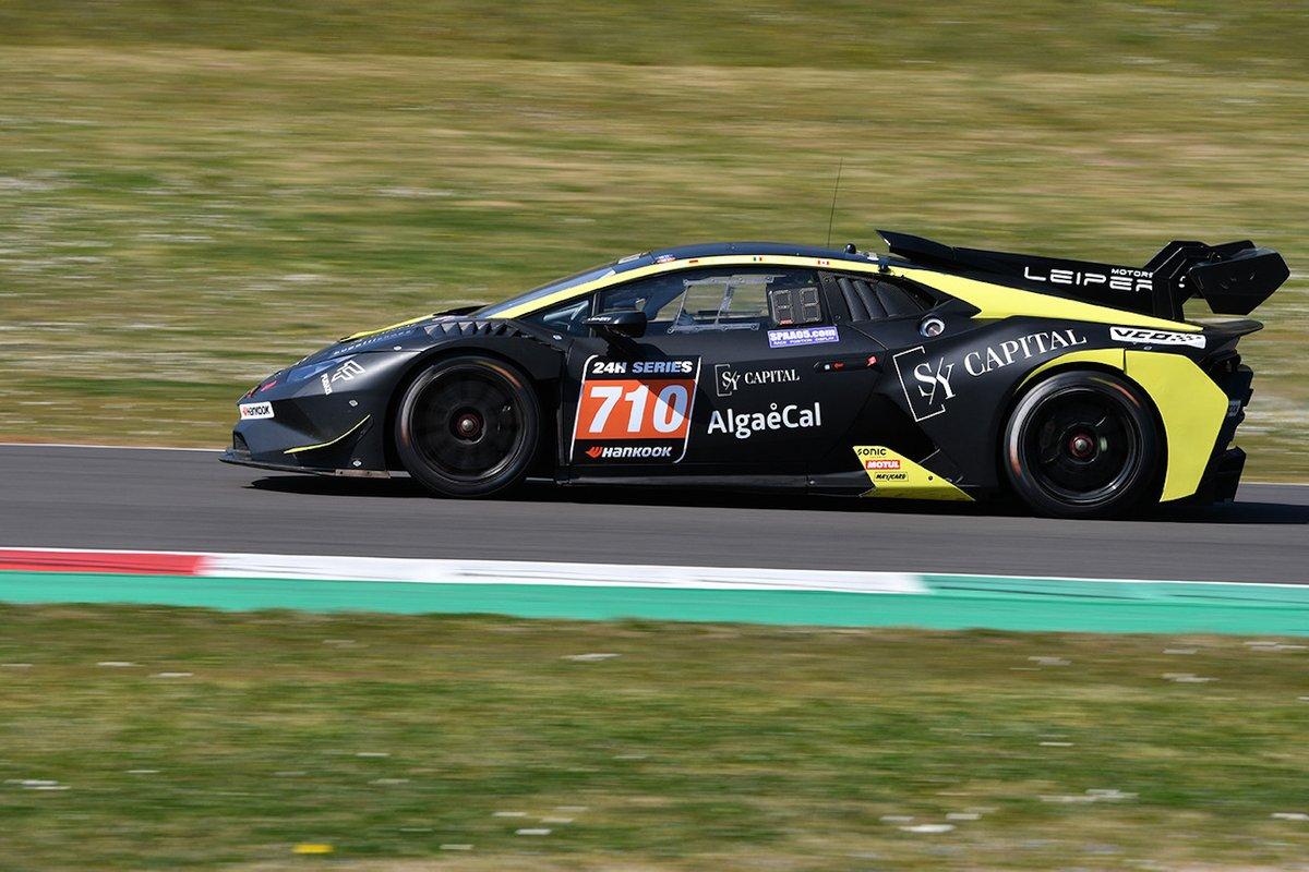 #710 Leipert Motorsport: Ray Calvin, Gabriele Rindone, Matthias Hoffsümmer, Lamborghini Huracán Super Trofeo