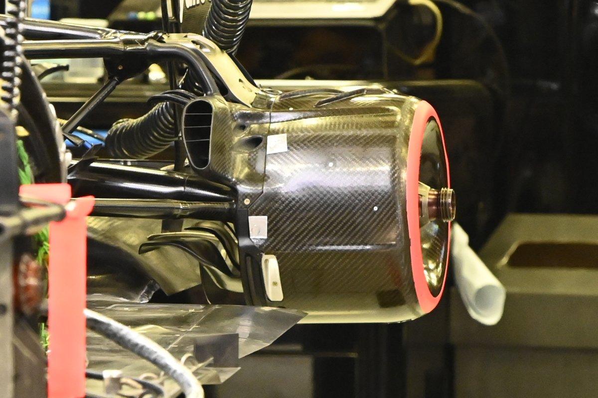 Alpine A521 rear suspension and brakes