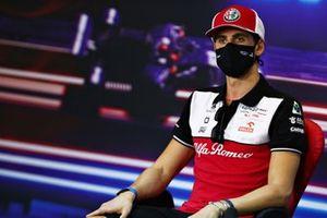 Antonio Giovinazzi, Alfa Romeo Racing, in the press conference