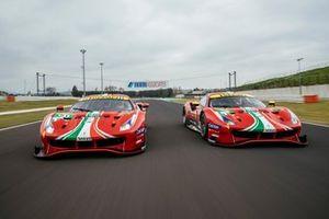 Ferrari 488 GTE Evo: #51 AF Corse: Alessandro Pier Guidi, James Calado, #52 AF Corse: Daniel Serra, Miguel Molina