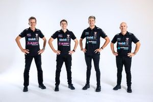 Warren Luff, Bryce Fullwood, Chaz Mostert and Lee Holdsworth, Walkinshaw Andretti United