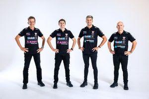 Warren Luff, Bryce Fullwood, Chaz Mostert and Lee Holdsworth, Walkinshaw Andretti United