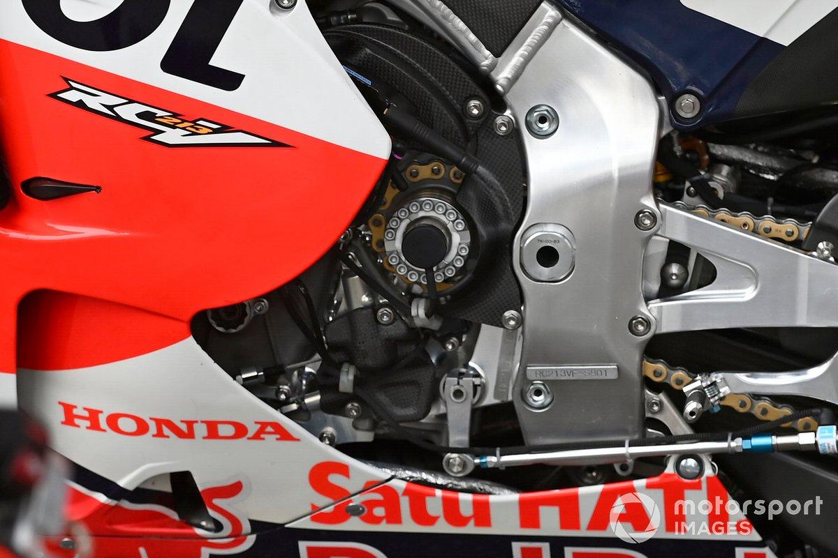 Moto de Repsol Honda