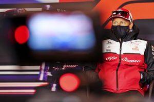 Kimi Raikkonen, Alfa Romeo Racing basın konferansında