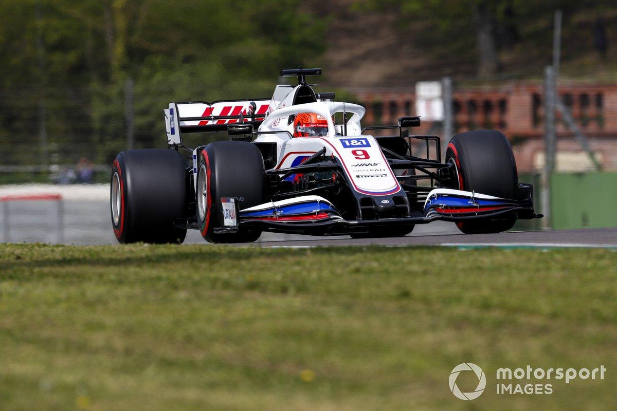 Nikita Mazepin, Haas VF-21