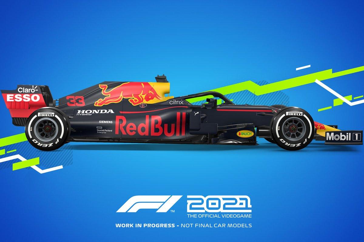 Decoración F1 2021 Red Bull Racing