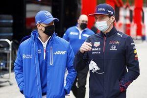 Mick Schumacher, Haas F1, Max Verstappen, Red Bull Racing
