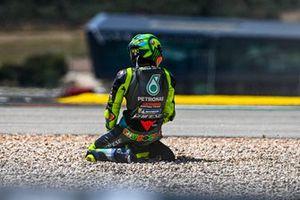 Valentino Rossi, Petronas Yamaha SRT crashes