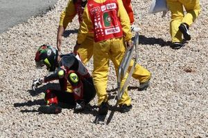 Tatsuki Suzuki, SIC58 Squadra Corse crash