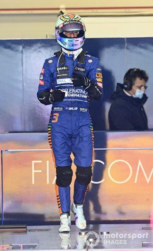 Daniel Ricciardo, McLaren, weighs in after the race